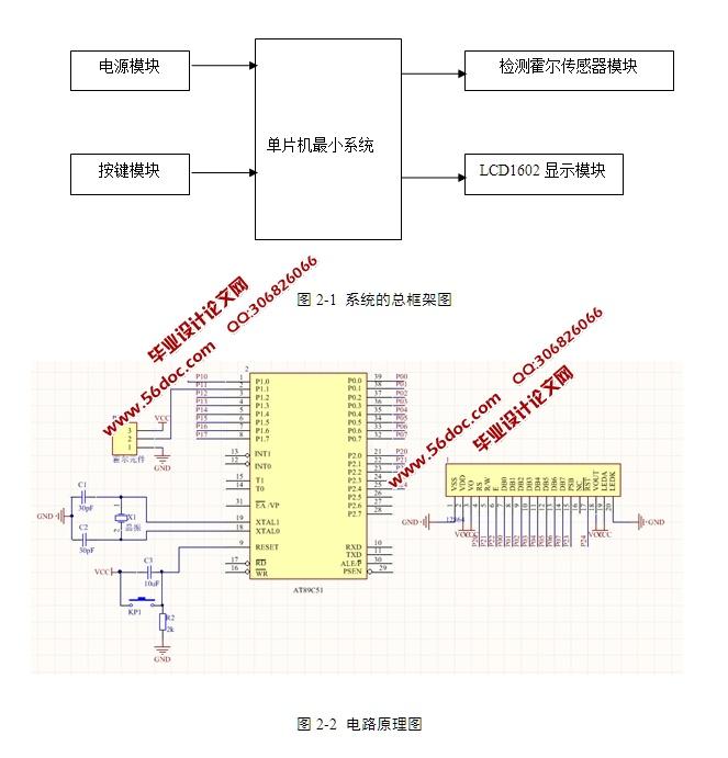 基于单片机的步进电机式汽车仪表的设计(含电路原理图