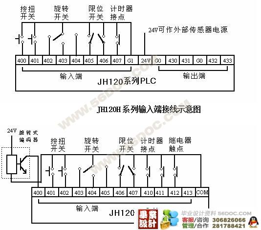 彩瓦成型机模拟电路布局图