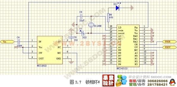 无线呼叫系统的电路设计(发送端硬件电路)