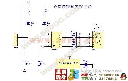 基于单片机的简易电梯控制系统的设计