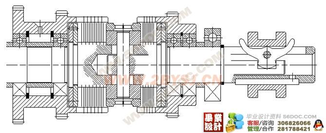 ca6140车床主轴箱的设计(机电一体化)